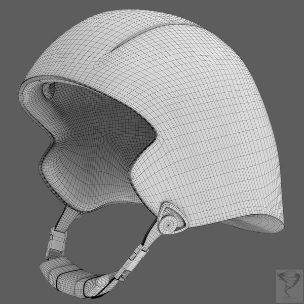 cycling helmet 3d 3ds - Cycling Helmet... by Tornado Studio