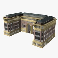 office building 3D models