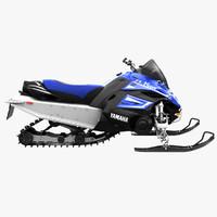 yamaha nytro fx snowmobile 3d max
