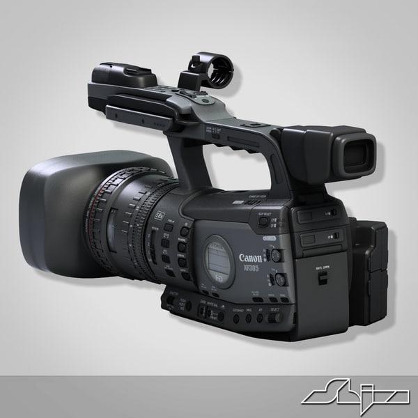 3d models electronics photography and film camera video camera 3d