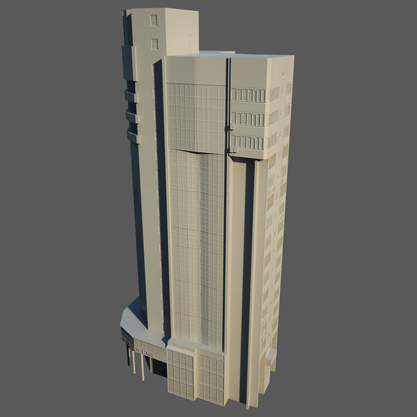Low Poly Building 48