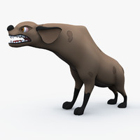 hyena lion king 3d model