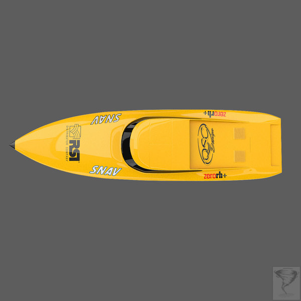 offshore powerboat 3d model - Offshore Power Boat... by Tornado Studio