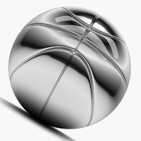 Chrome Basket Ball