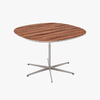 tables designed arne 3d model