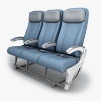 3d seat economy