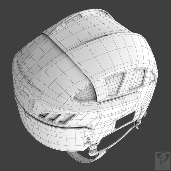 3d ice hockey helmet model - Ice Hockey Helmet - Standard... by Tornado Studio