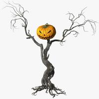 max scarecrow pumpkin