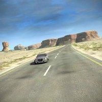 Desert Road Complete Scene