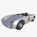 porsche 550 3D models