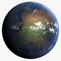permian early earth 3d max