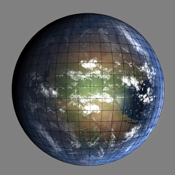 permian early earth 3d max - Early Permian Earth... by MichaelTaylor3D