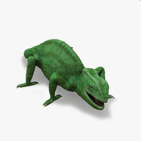 3ds max eyes chameleon animate