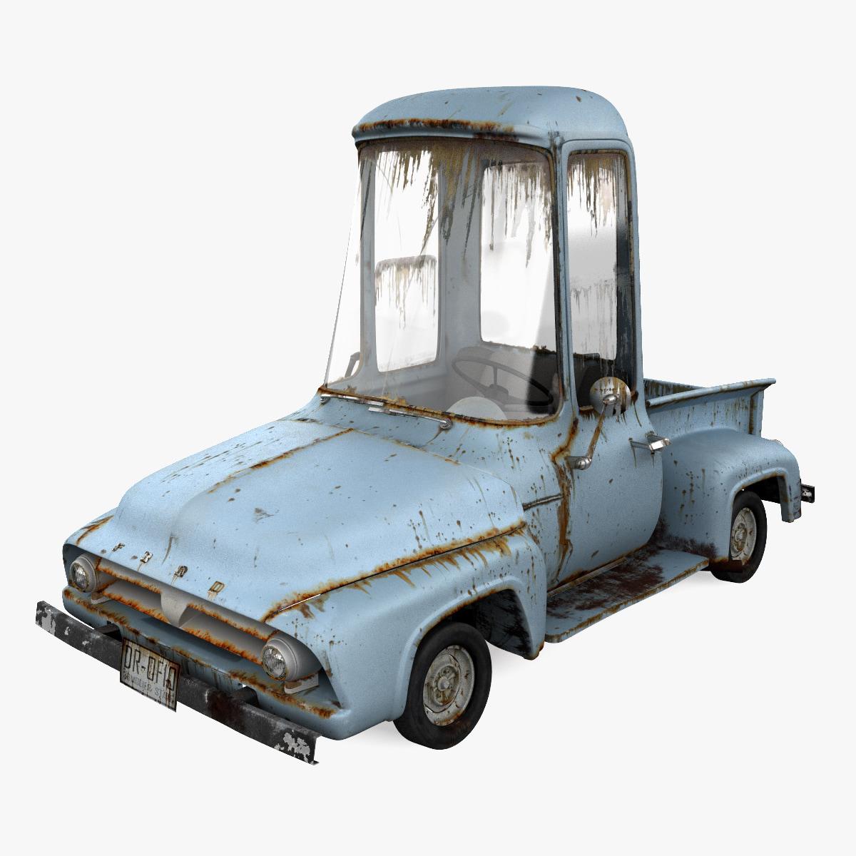 3d Model Toon Car