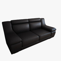3d modern couch model