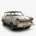 wrecked car 3D models