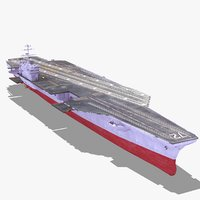 CVN72 Aircraft Carrier