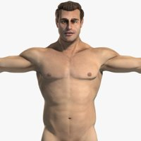 3ds max male body anatomy