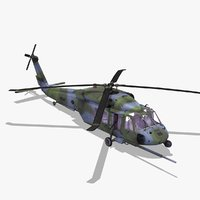 3d pavehawk helicopter model