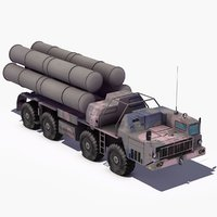 S300 SAM Launch Vehicle