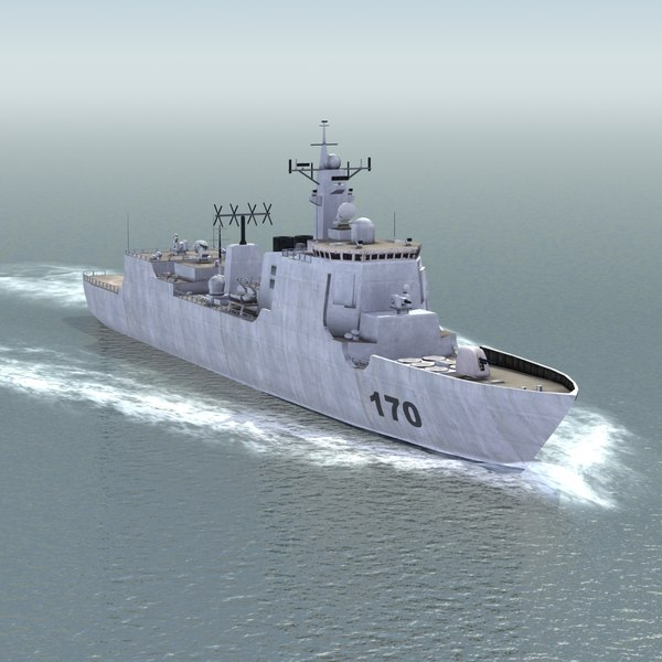 lwo lanzhou destroyer