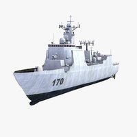 3ds max lanzhou type 052c