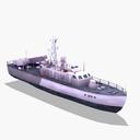 Missile Boat 3D models