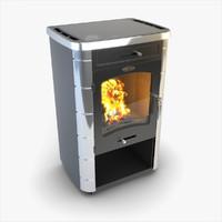 stove siber wood x