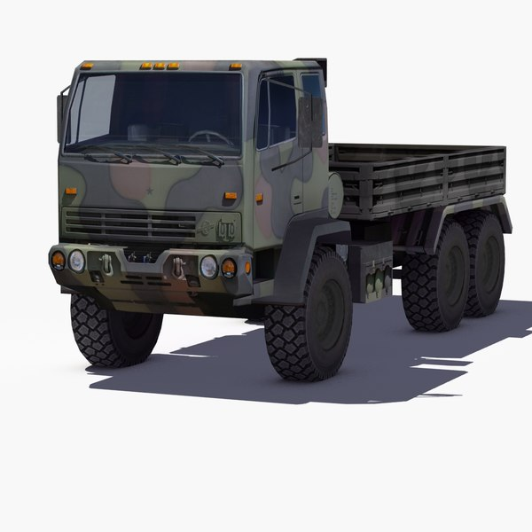 3d m1083 army truck mtv model for 1083 3
