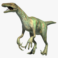 dinosaur adasaurus velociraptor 3d model