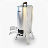 stove siber wood 3d model