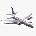 Boeing 737-700 3D models