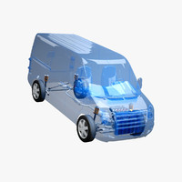 fwd van x-ray 3d 3ds