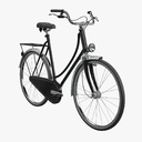 Dutch bicycles 3D models
