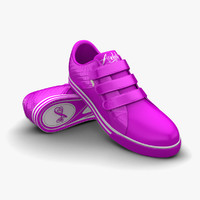 3d 3ds purple sport shoes