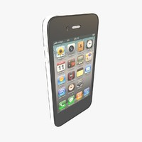 apple iphone 4 gsm 3d max