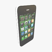 apple iphone 4 cdma 3d model