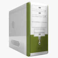 obj computer case asus ta-665
