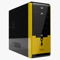 computer case asus ta-668 3d max