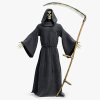 Death Reaper With Scythe