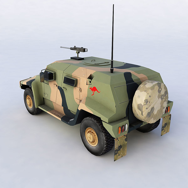 3d hawkei vehicle - Hawkei... by Polygon Puppet