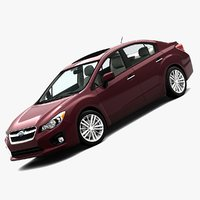 2012 Subaru Impreza Sedan