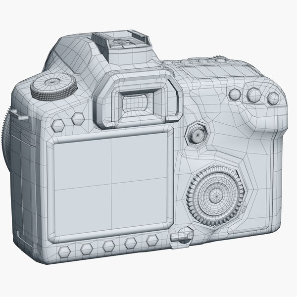 photo camera canon 50d 3ds - Camera Canon 50D... by shiva3d