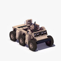 Crusher FSV Military Robot