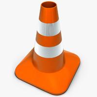 c4d traffic cone