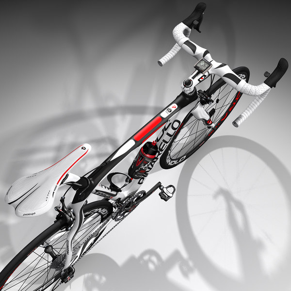 pinarello road bike rigged 3d model - Road Bike, Rigged... by dmk76