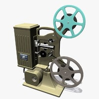 Old Movie Projector Keystone 8mm