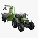 logging truck 3D models