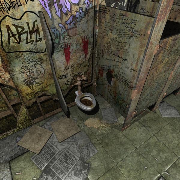 Maya Public Bathroom