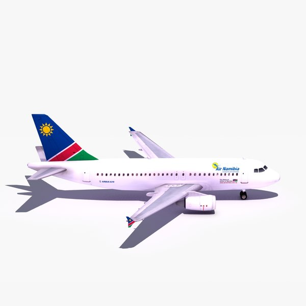 lightwave airbus a319 air namibia